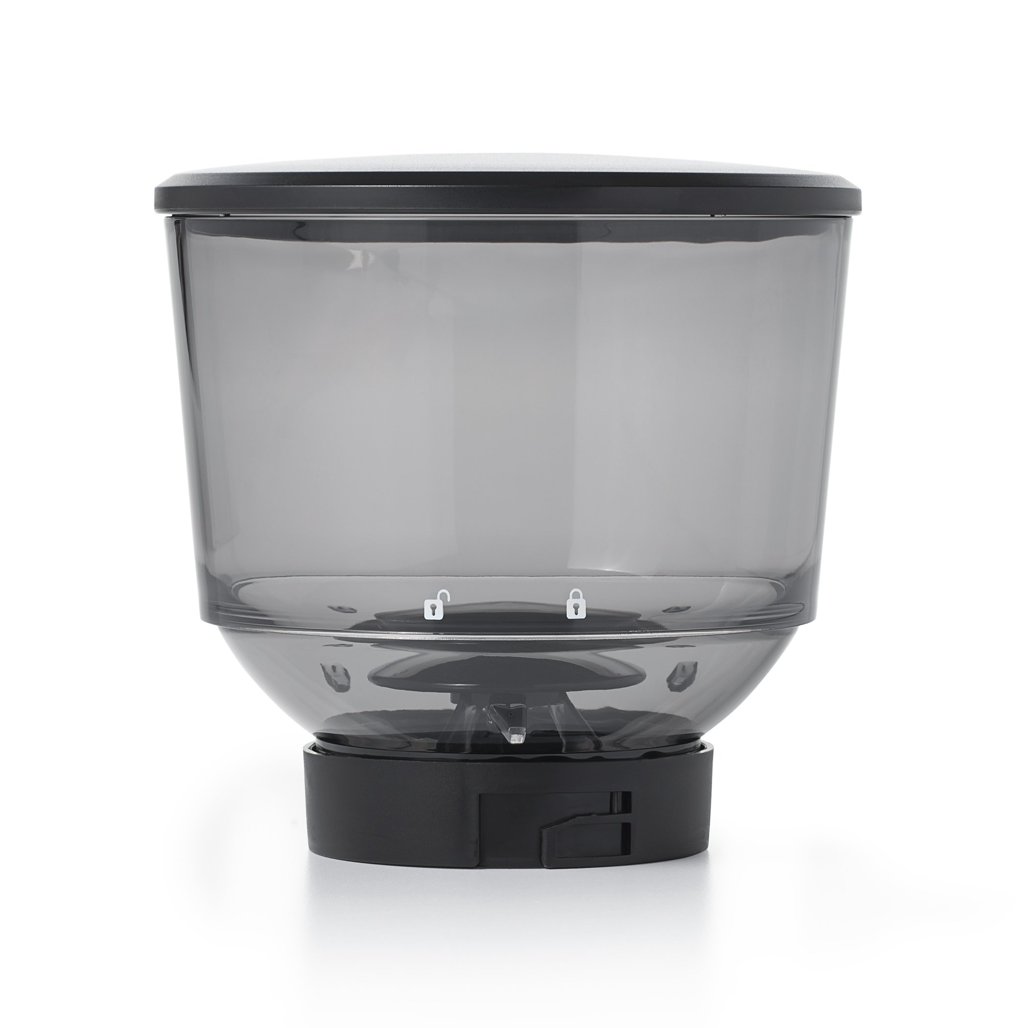 OXO 8716200 On Conical Burr Grinder Hopper with Lid, Black