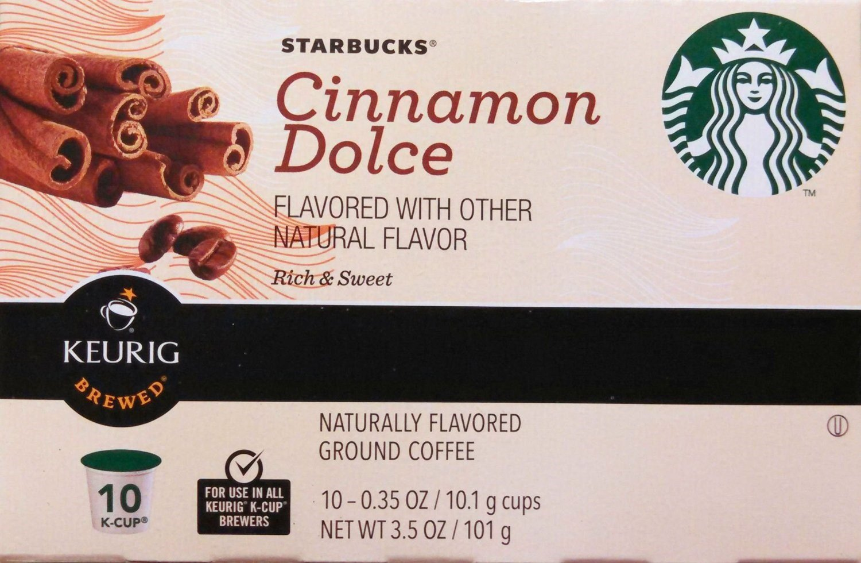 Starbucks K-Cup Cinn Dolce, Pack of 6
