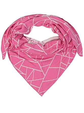 dreieckstuch aus baumwolle hochwertiger schal mit trendigem muster fr damen jungen mdchen uni - Muster Fur Dreieckstuch