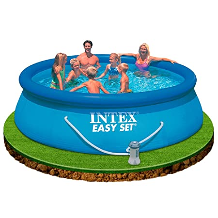 Intex 56932 - Piscina Easy Set con depuradora, 366 x 91 cm: Amazon ...