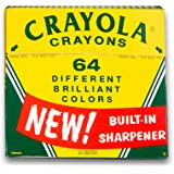Crayola Vintage-Style Crayon Set with Collectible Tin - 64 Count
