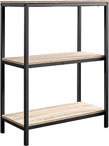 "Sauder 420276 North Avenue Bookcase, L: 23.47"" x W: 11.50"" x H: 30.47"", Charter Oak finish"