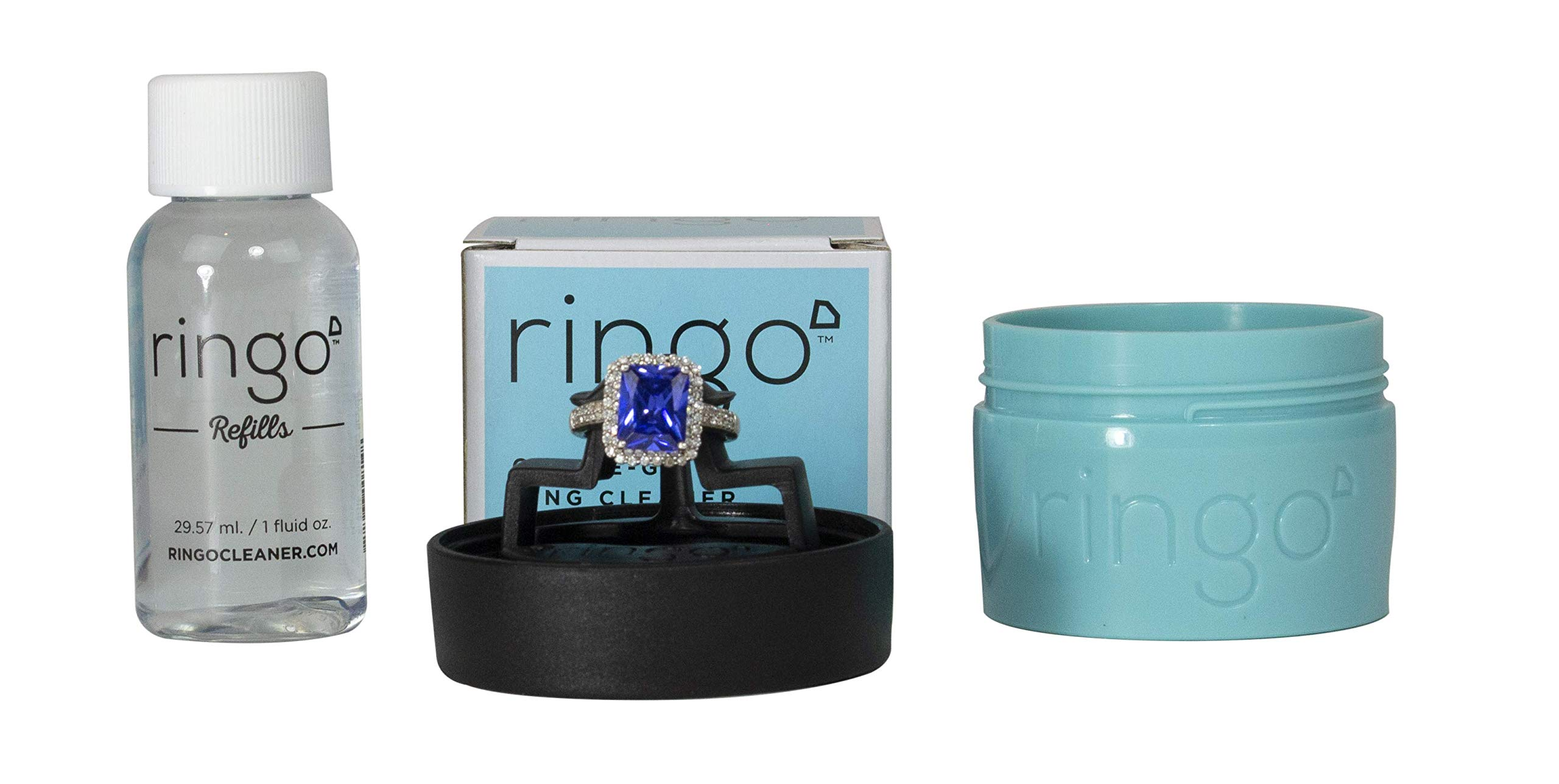 Ringo :: On-The-Go Portable Ring Jewelry Cleaner (Gift Set) (Blue)