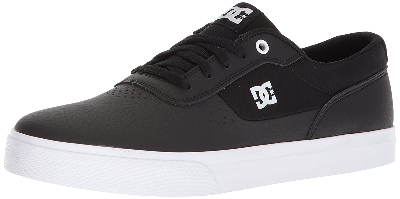 DC Men's Switch Skate Shoe Black/White/Black