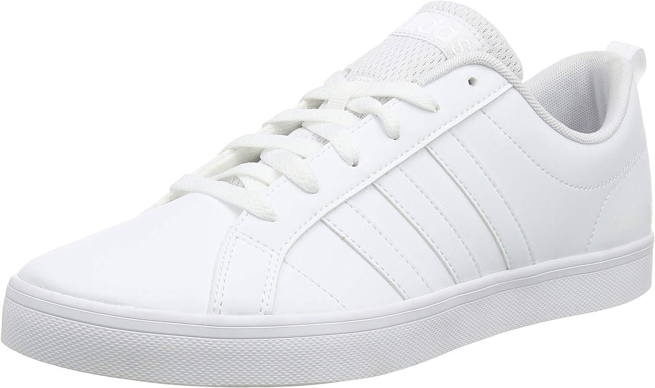 Adidas Vs Pace, Zapatillas para Hombre, Blanco (Footwear White/Footwear White/Core Black 0), 40 EU: Amazon.es: Zapatos y complementos