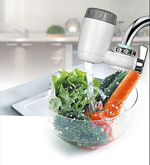 Jarra de filtro de agua para cocina, purificador de grifo para ...