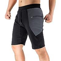 BROKIG Shorts Deportivos para Hombres, Pantalones Cortos Deportivos