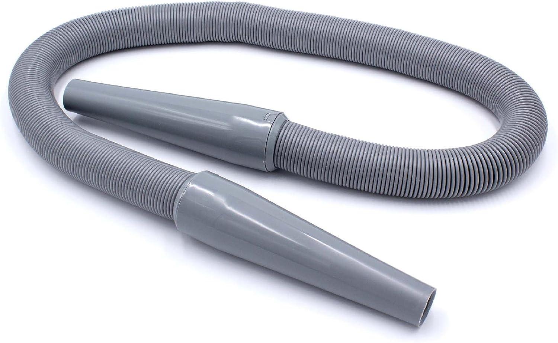 vhbw Extensión de tubo gris de aspiradora para aspiradoras Philips ...