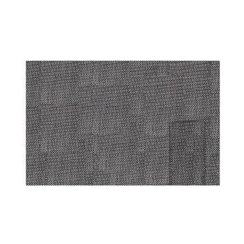 scrg Western Food rectangular webart PVC mesa Set con cubiertos de funda, wärmeisolierte antideslizante mesa Juego negro: Amazon.es: Hogar