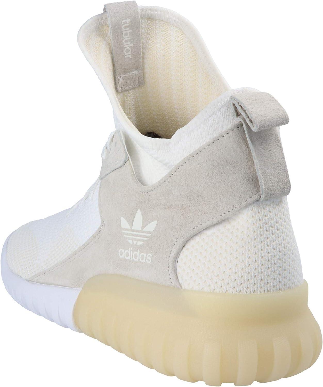 adidas Uomo Sneaker Tubular X Primeknit White