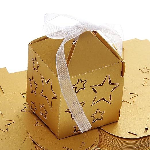 Ultnice 50 cajas para gominolas, caramelos, bombones, etc ...