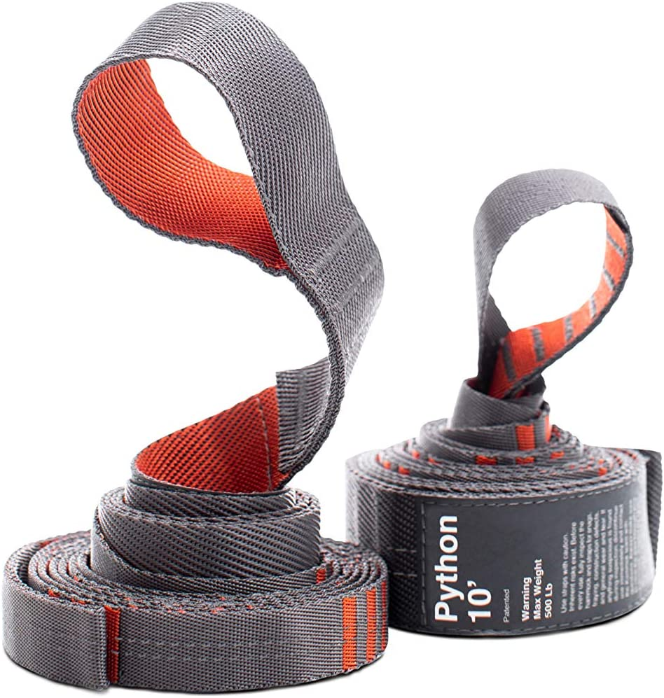 KAMMOK Python Straps Tree-Friendly Suspension for Camping
