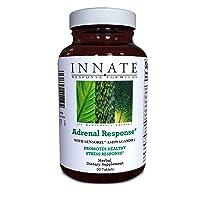 INNATE Response Formulas, Adrenal Response, Herbal Supplement, Non-GMO, Vegetarian, 90 tablets (45 servings)