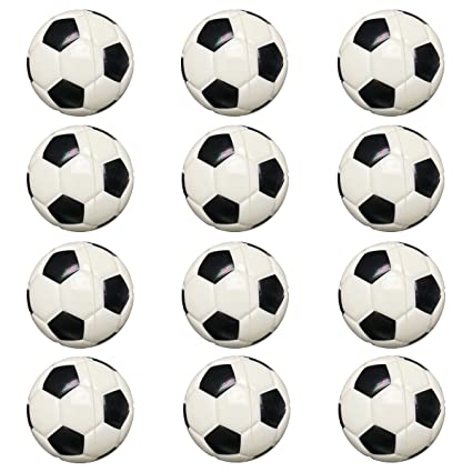 aa12edfb5c6 Small Sports Ball for Kids Party Favor 12 Pack Foam Stress Balls 2.5 INCH  Soccer Squeeze Toy Ball (Soccer)