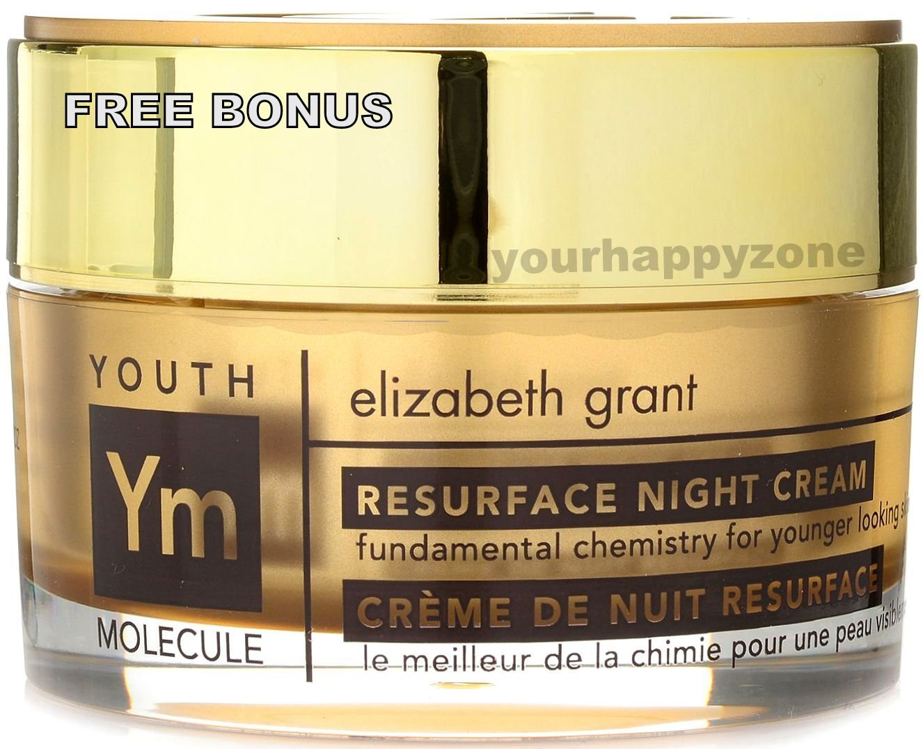 ELIZABETH GRANT Youth Molecule Resurface Night Cream 1.7 oz. with BONUS