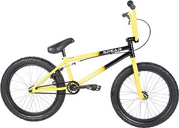 Tribal Spear - Bicicleta BMX, Dos Tonos, Color Amarillo y Negro: Amazon.es: Deportes y aire libre