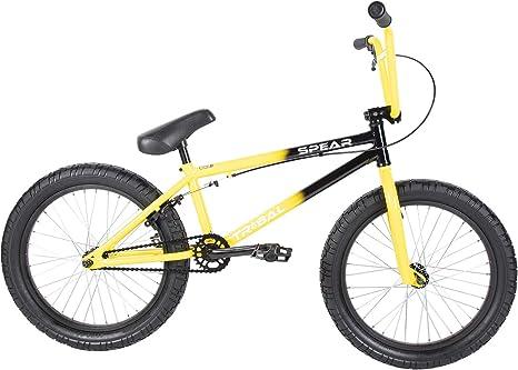 Tribal Spear - Bicicleta BMX, Dos Tonos, Color Amarillo y Negro ...
