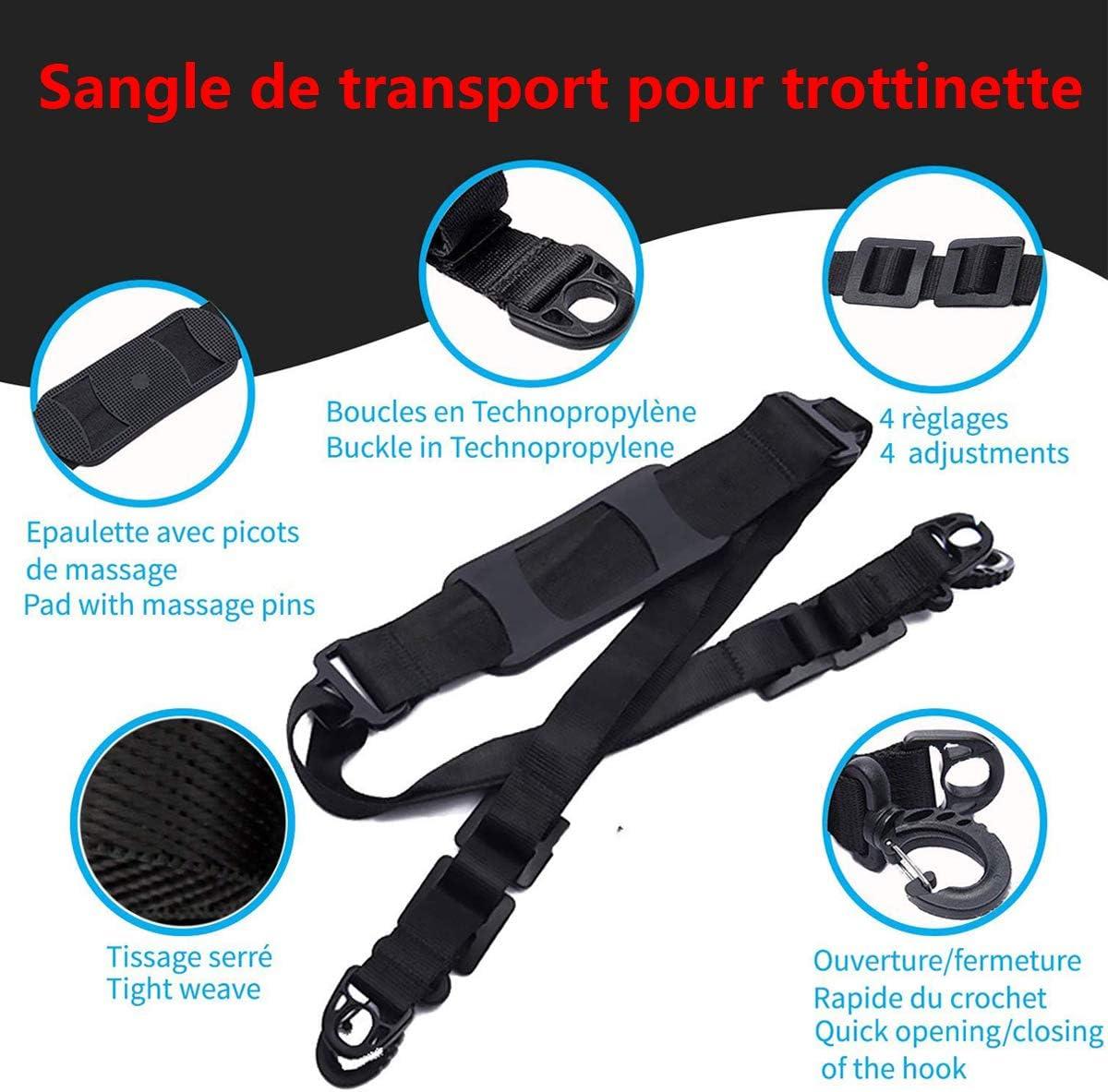 Verstellbarer Scooter-Trageriemen Details about  /Scooter-Schultergurt Scooter-Teile Universal