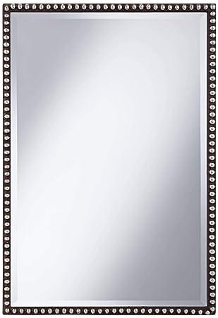 Uttermost Tempe Mirror 1.25 x 21.5 x 31.75, Brown, 21 W x 31 H,