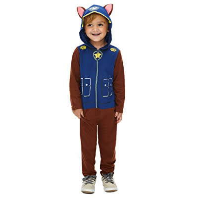 Nickelodeon Paw Patrol Marshall Boys Hooded Costume Coverall: Clothing