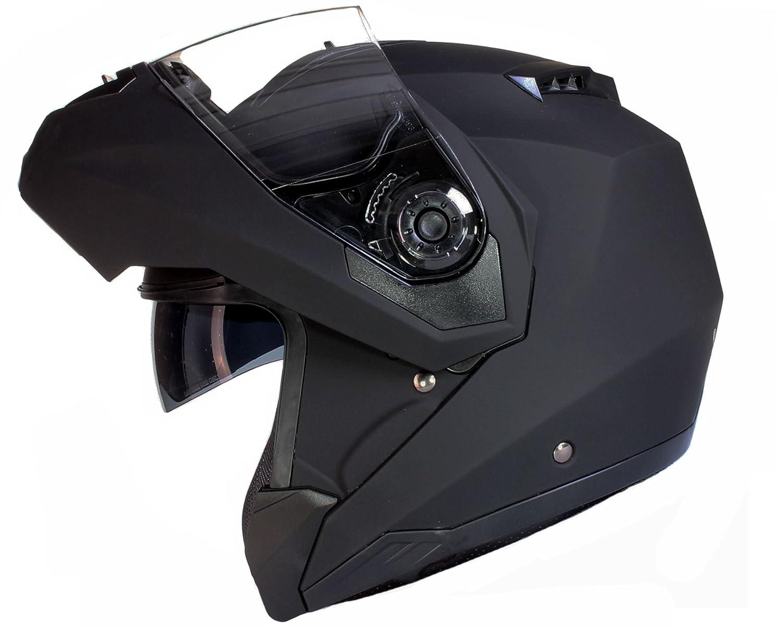 Qtech Moto Casco/ /Casco con Parasol Integral Casco Modular/ /Ece 22.05