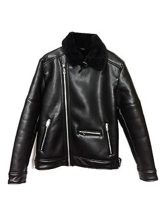 70642c4e2514 Zara Homme Veste de Motard Double Face 0706 474  Amazon.fr ...