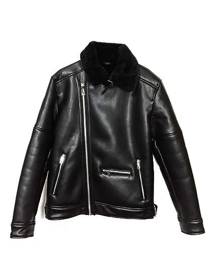 ec039e5e Zara Men's Double-Sided Biker Jacket 0706/474 Black: Amazon.co.uk ...