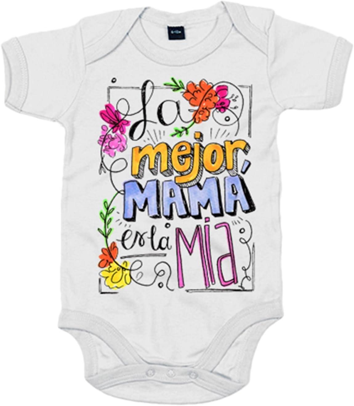 Set Camiseta Madre y Body Manga Corta Beb/é Me and Mini Me Ropa Mama y Bebe Iguales