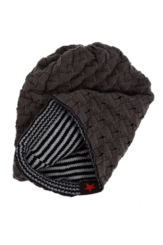 Beechfield - Gorra beanie de invierno con visera Modelo Peaked Unisex hombre  mujer UTRW241  4 d4489e81ddf