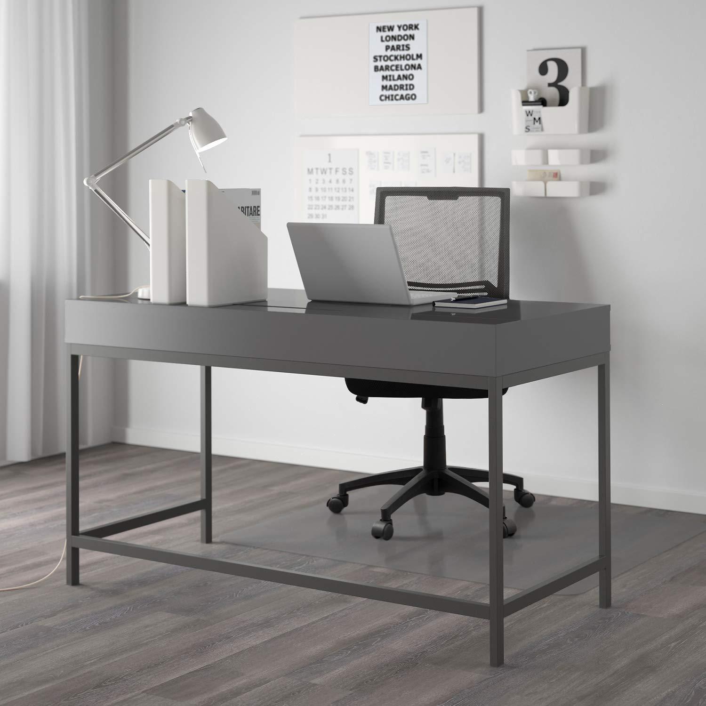 Amazon.com: JUMMICO Silla de oficina con respaldo medio ...