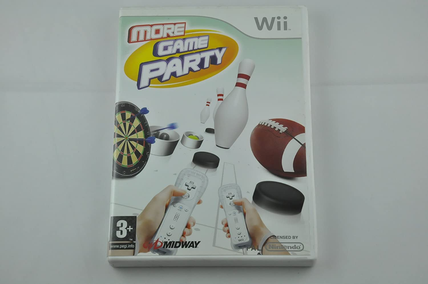 More Game Party (Wii) [Importación inglesa]: Amazon.es: Videojuegos