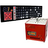 Bingo Blower Electronic Table Top and 6 Foot Deluxe Bingo Flashboard