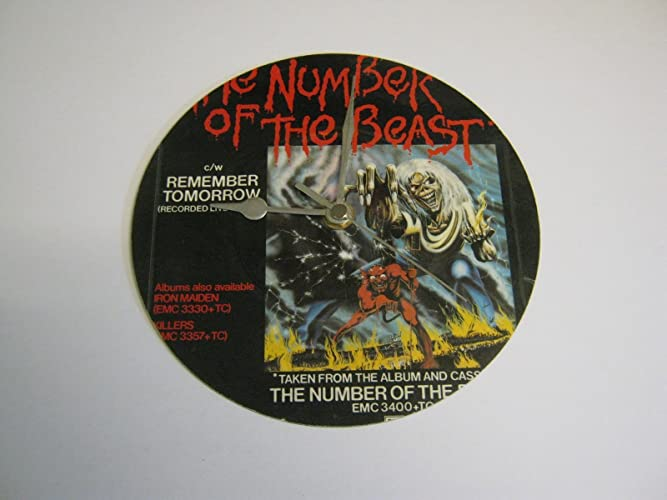 b7f7ccdf Iron Maiden - The Number Of The Beast (B) - 7