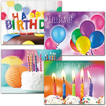 Celebratory Happy Birthday Set of 5