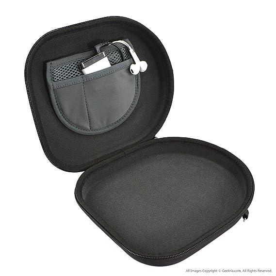 Parrot Zik, Bose QC3, QC2, QC25, QC15, AE2w, AE2i, AE2,On-Ear,SONY MDR-ZX750 Foldable Headphone, Google Glass Hard Carrying Case/ Bolsa/Estuche para Pliable ...