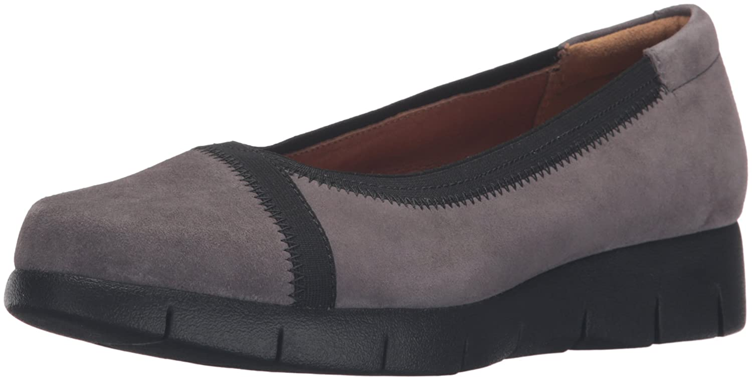 Bomba de cu?a Daelyn Hill para mujer Clarks, Grey Suede, 9 M US