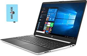 "HP 15t 15-dy1771ms-Plus Home and Business Laptop (Intel i7-1065G7 4-Core, 16GB RAM, 512GB PCIe SSD, Intel Iris Plus, 15.6"" Touch HD (1366x768), WiFi, Bluetooth, Webcam, Win 10 Pro) with Hub"