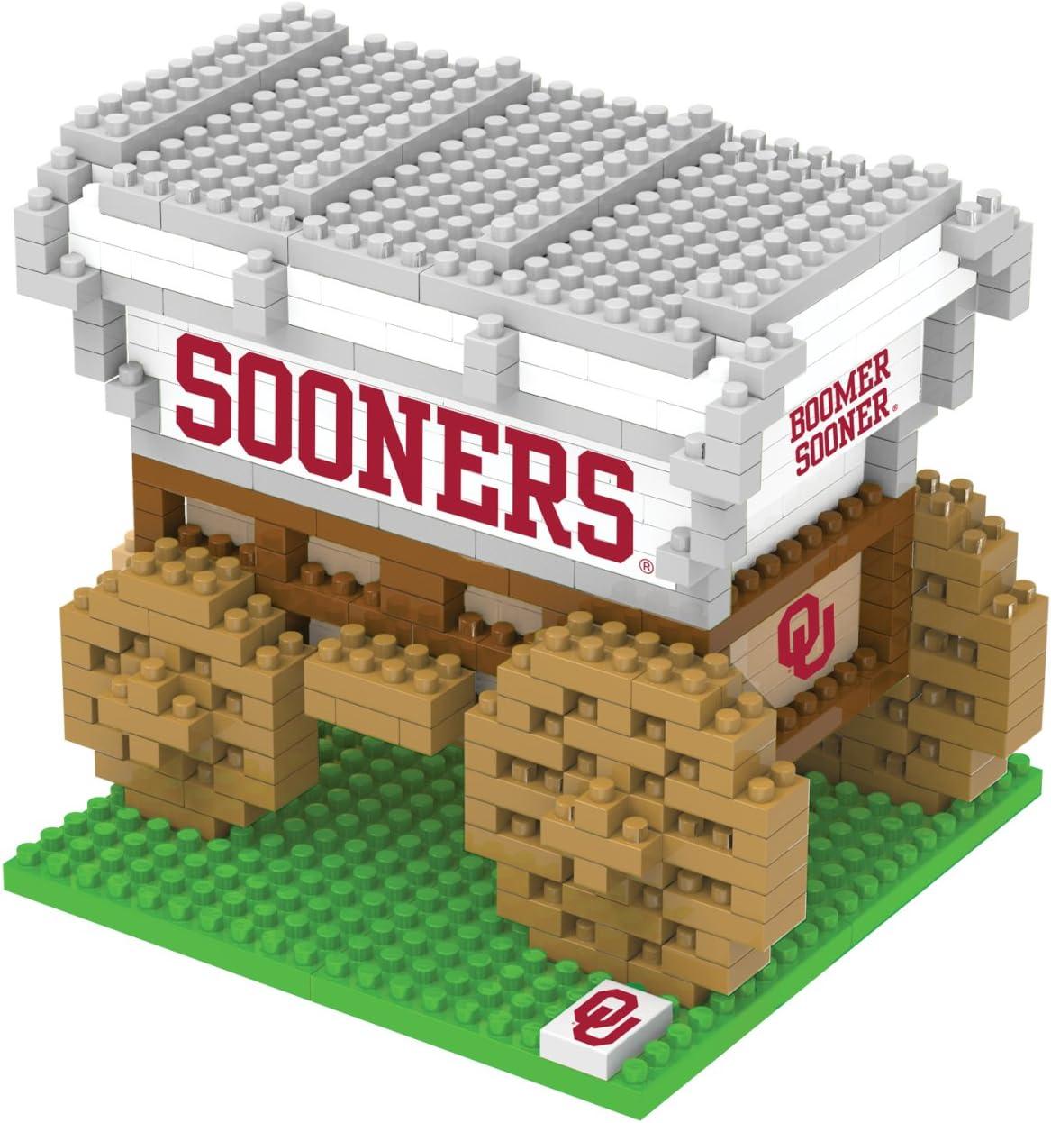 FOCO NCAA 3D BRXLZ Building Blocks Mascots