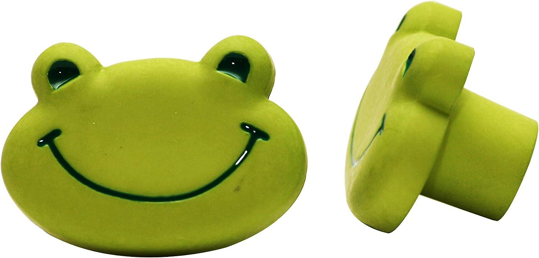 Gr/üner Frosch Pomo Nylon Rana Verde 5951//004