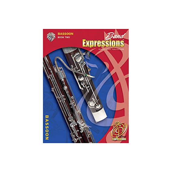 Alfred Band Expressions Book Two Student Edition Bassoon Book & CD