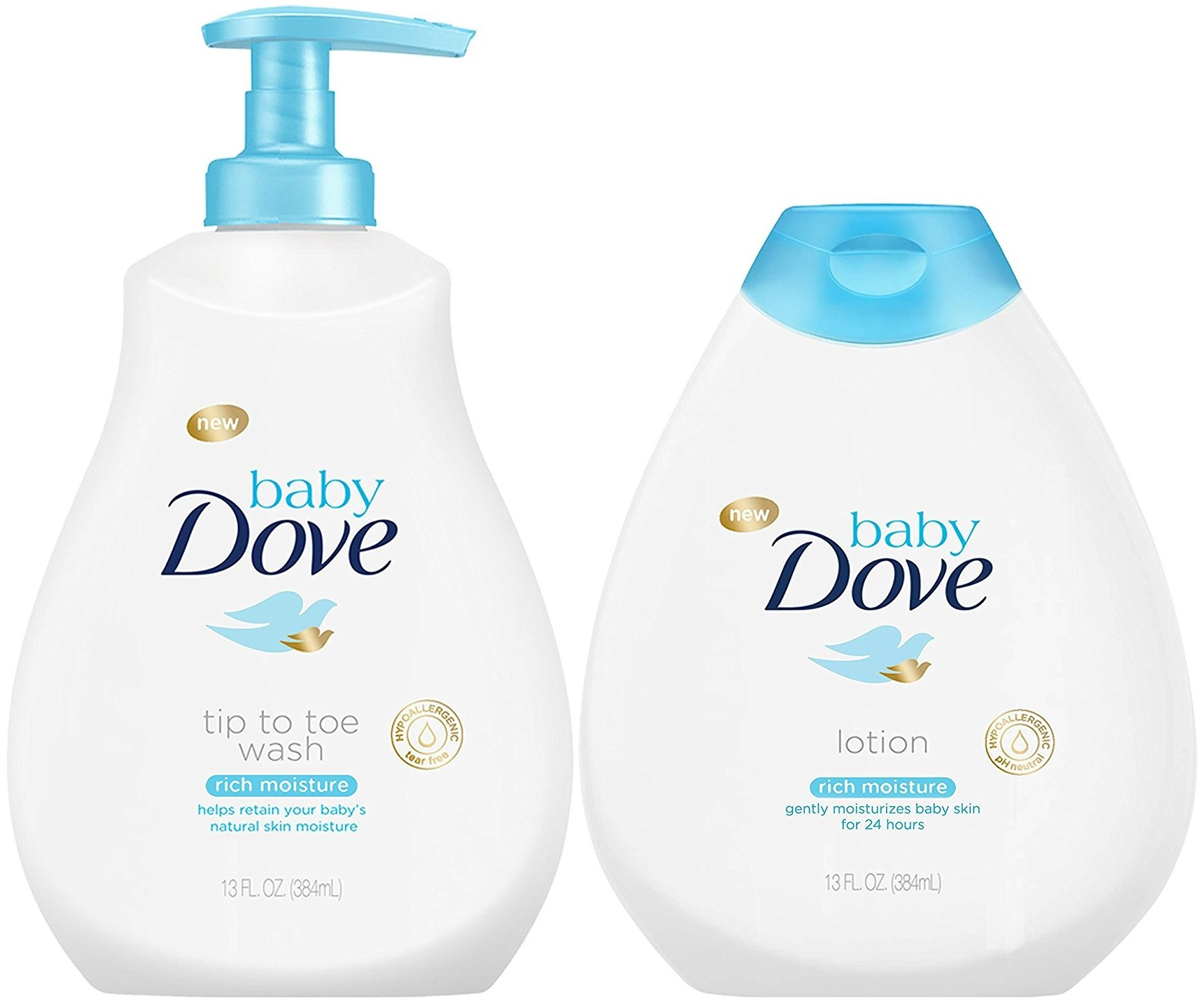 Baby Dove Rich Moisture Bundle, Tip to T- Buy Online in Jamaica at  Desertcart