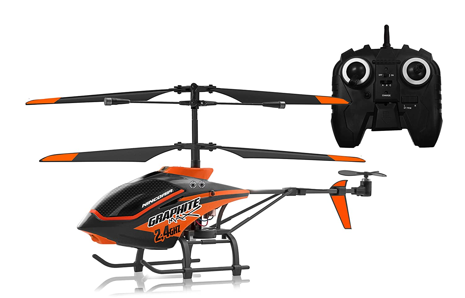 Ninco 530090080 - Helikopter - Air Graphite Max 2,4G 3Ch