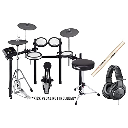 Amazon com: Yamaha DTX562K Electronic Drum Set w/Kick Pedal