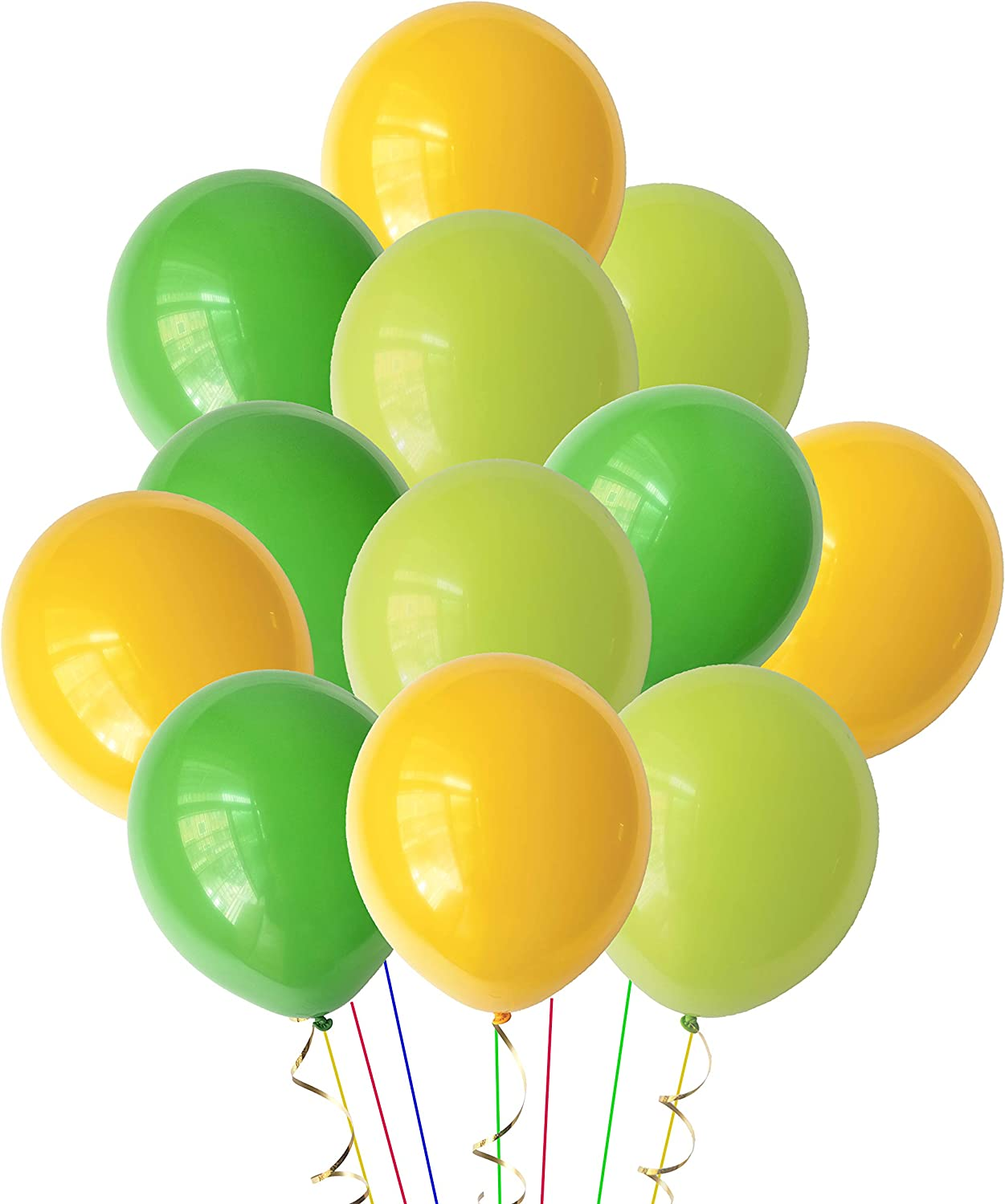 Pastel assorted Rainbow Color 80 packs 10 inch Balloons for Birthday Wedding Baby Bridal Shower Party Decorations