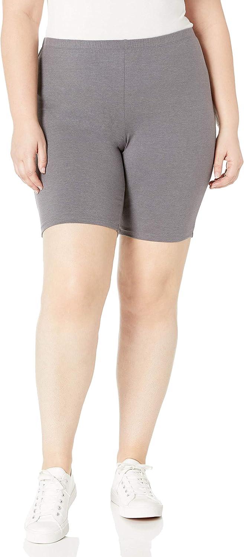 Just My Size Women's Plus-Size Stretch Jersey Bike Short