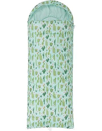 Mountain Warehouse Minisaco de Dormir Estampado Apex para niños - Tipo Momia - Peso Ligero,