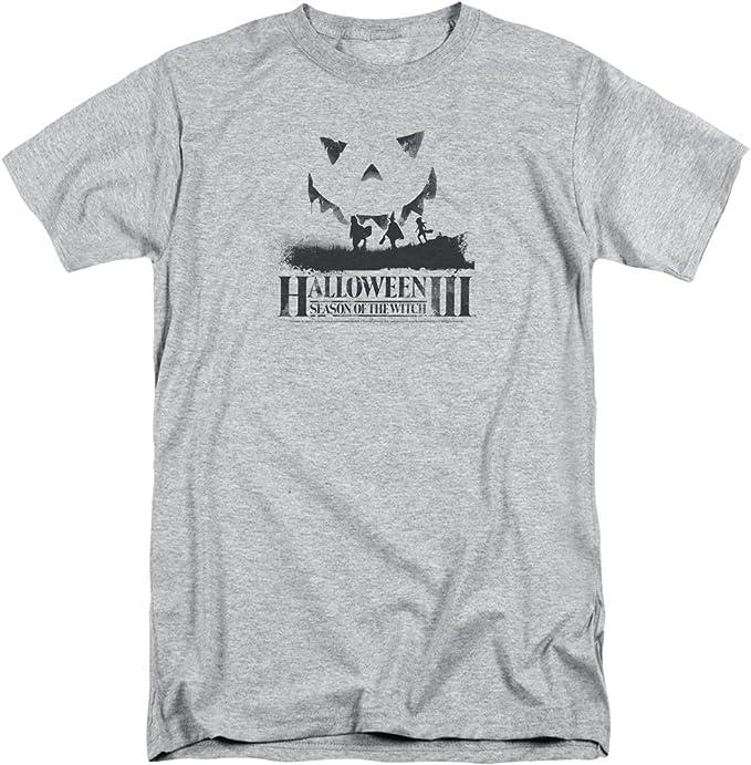 Halloween - Camiseta - para Hombre Gris Gris X-Large: Amazon.es: Ropa y accesorios