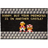 getDigital Your Princess is in Another Castle Funny Welcome Doormat for Gamers, Nerds and Geeks - 60 x 40 cm, 100…