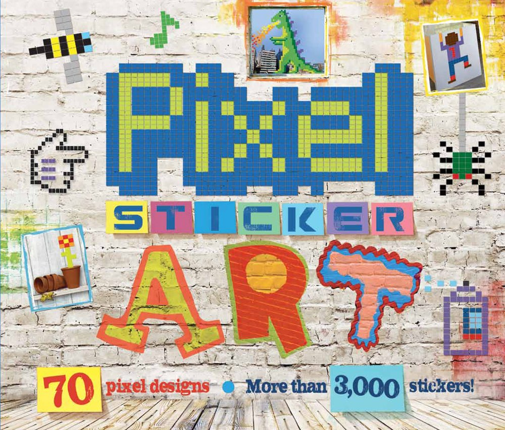 Pixel Sticker Art: By (author) Matthew Kelly: 0884793272604: Amazon ...