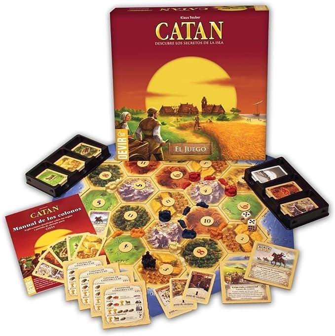Catán - Juego Básico en Español: Amazon.es: Juguetes y juegos